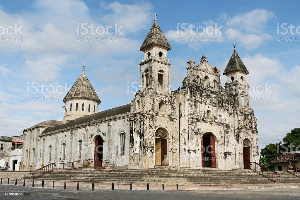 グアダルーペ教会、グラナダ、ニカラグア ロイヤリティフリーストックフォト