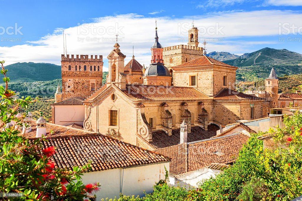 Guadalupe monastery, Spain stock photo