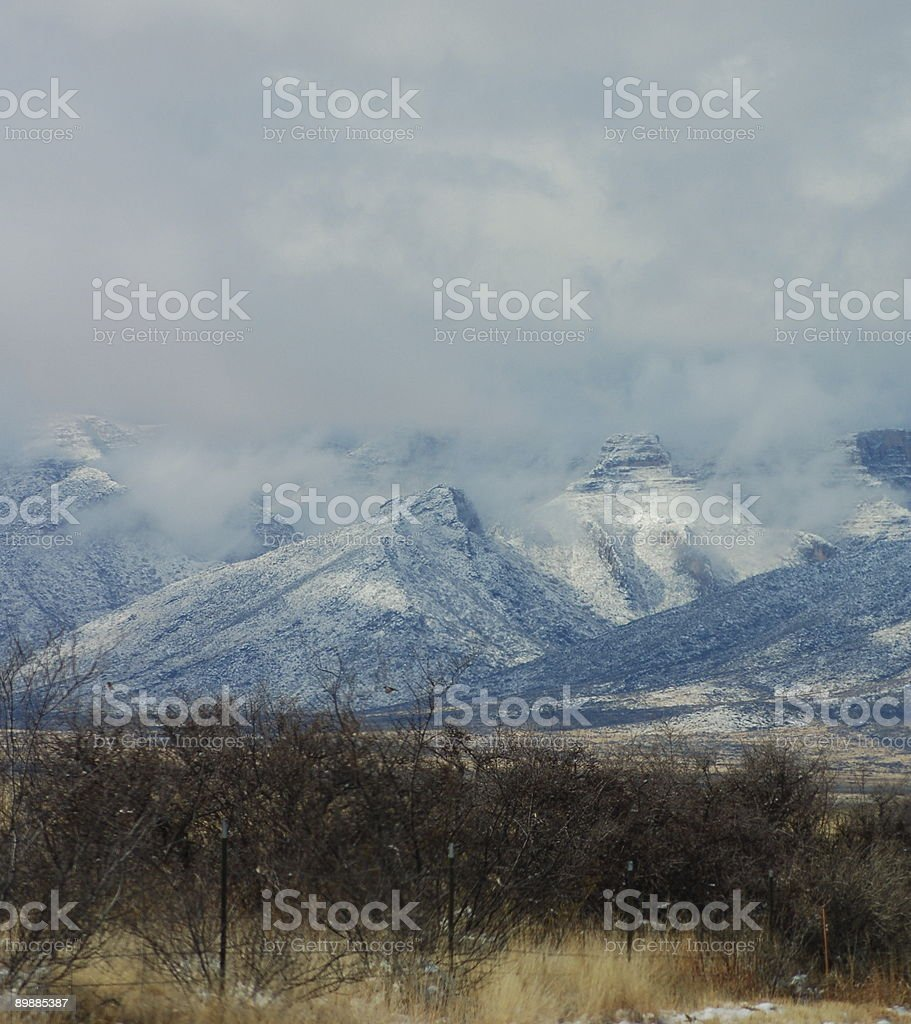 Guadalupe Mountains royalty-free stock photo