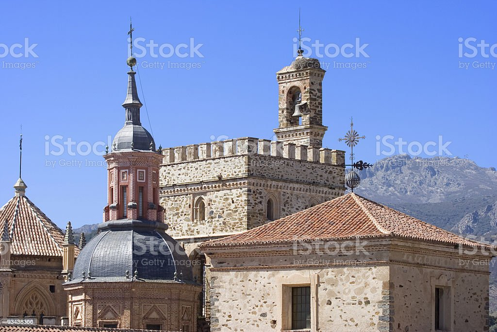 Serie Monasterio Guadalupe V stock photo