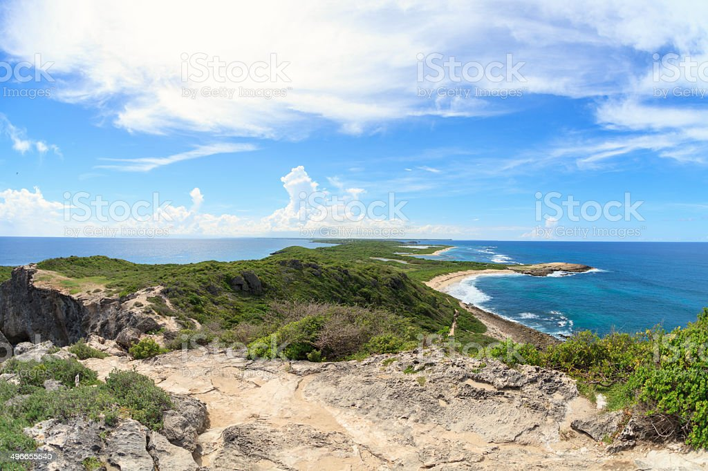 Guadeloupe Island stock photo