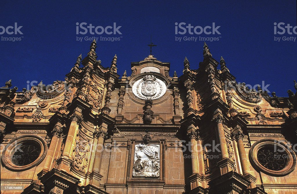 Guadix cathedral royalty-free stock photo