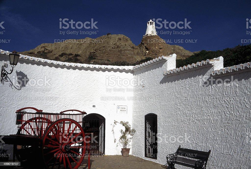 Guadix royalty-free stock photo