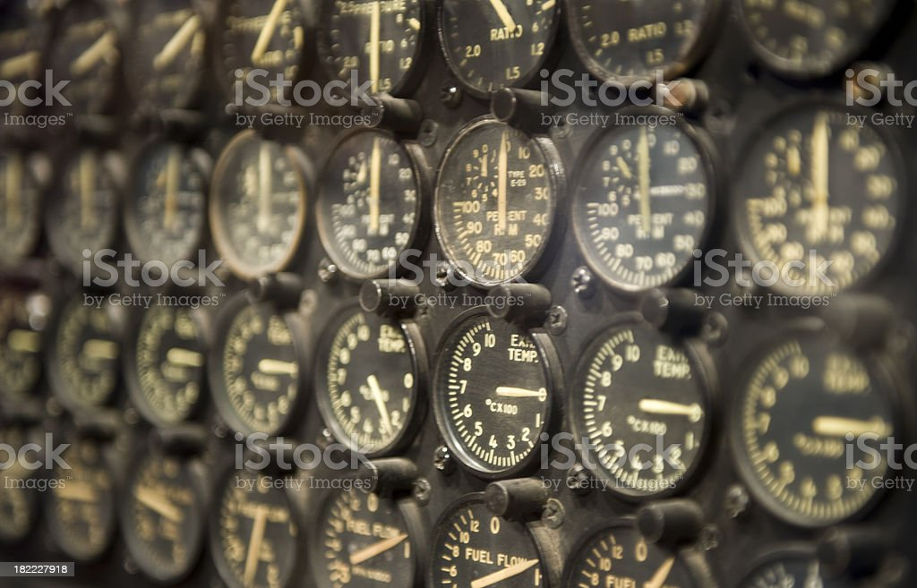 Guages stock photo
