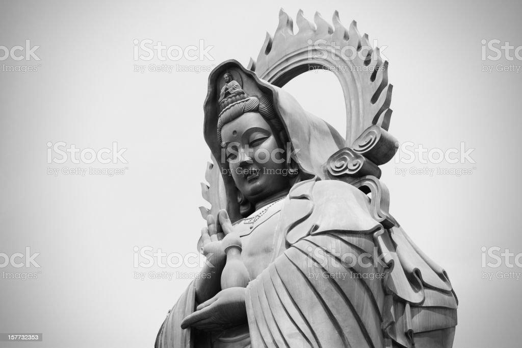 Guan Yin   (The Goddess of Mercy) stock photo