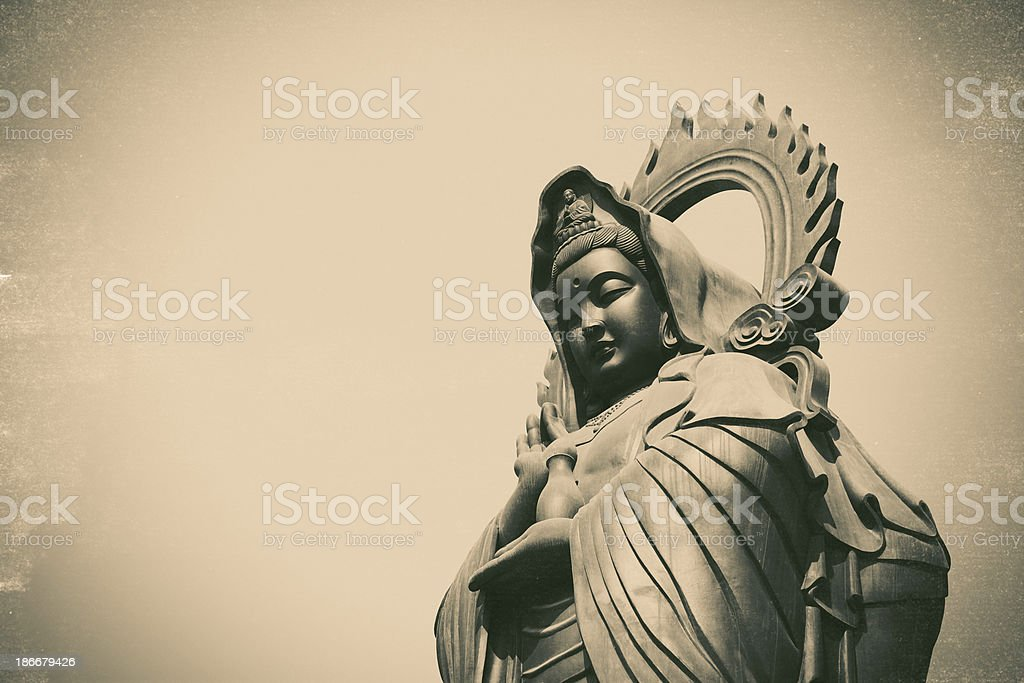 Guan Yin (The Goddess of Mercy) royalty-free stock photo