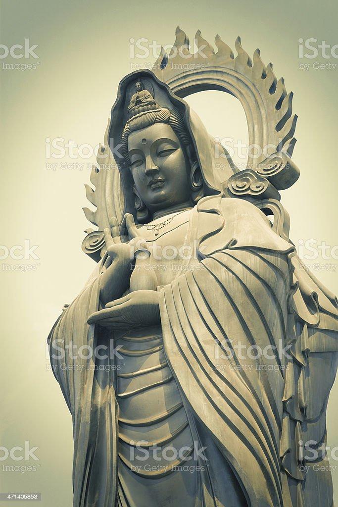 Guan Yin   (The Goddess of Mercy) royalty-free stock photo