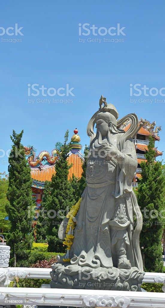 Guan Yu stock photo