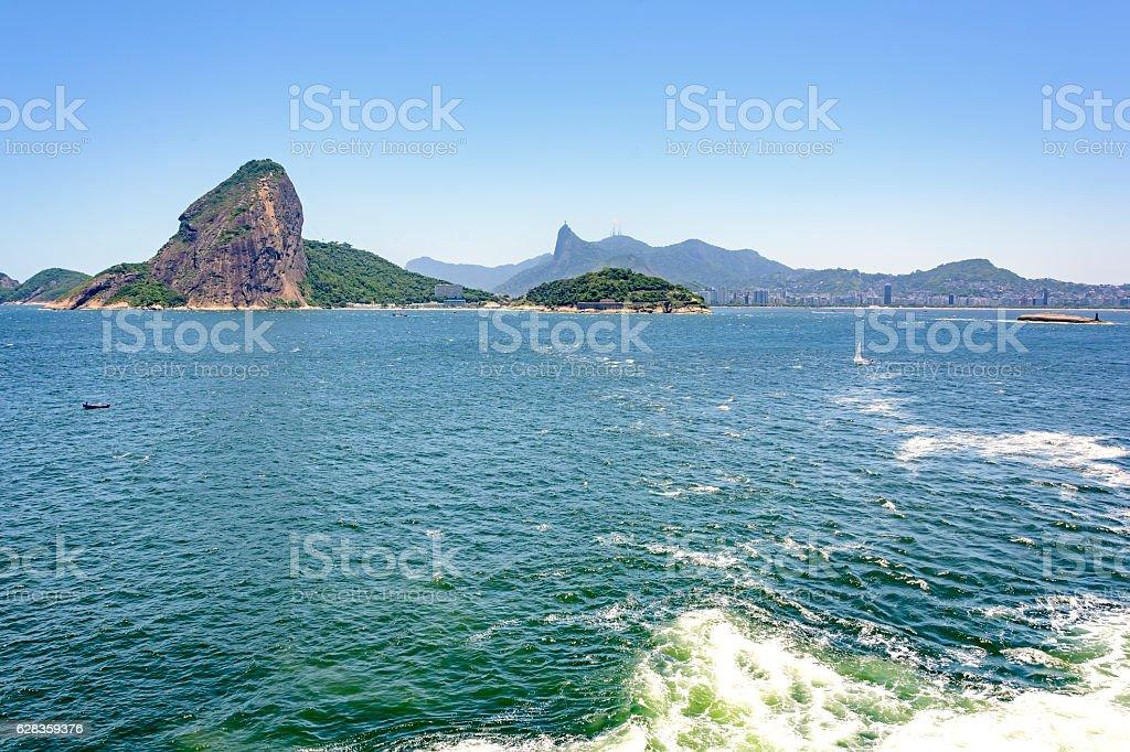 Guanabara bay and Sugar Loaf stock photo