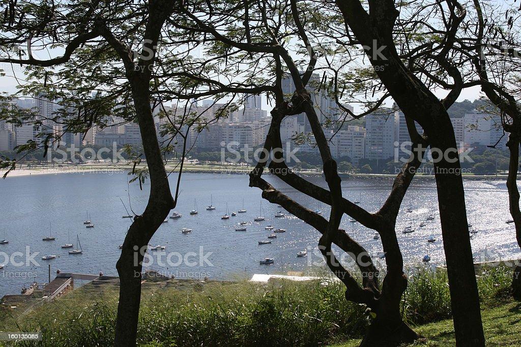 Guanabara Bay royalty-free stock photo