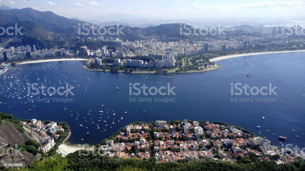 Guanabara Bay stock photo