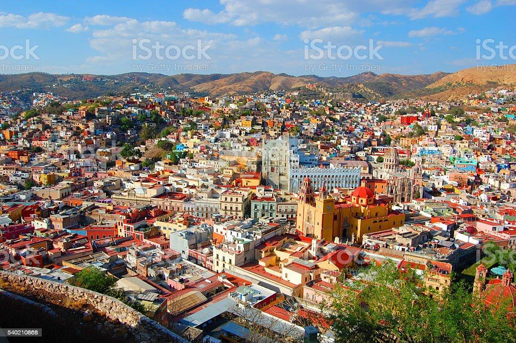 Guanajuato, Mexico 2011 stock photo