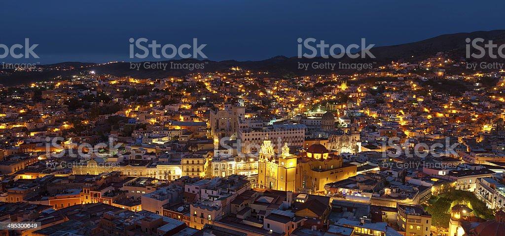 Guanajuato skyline. stock photo