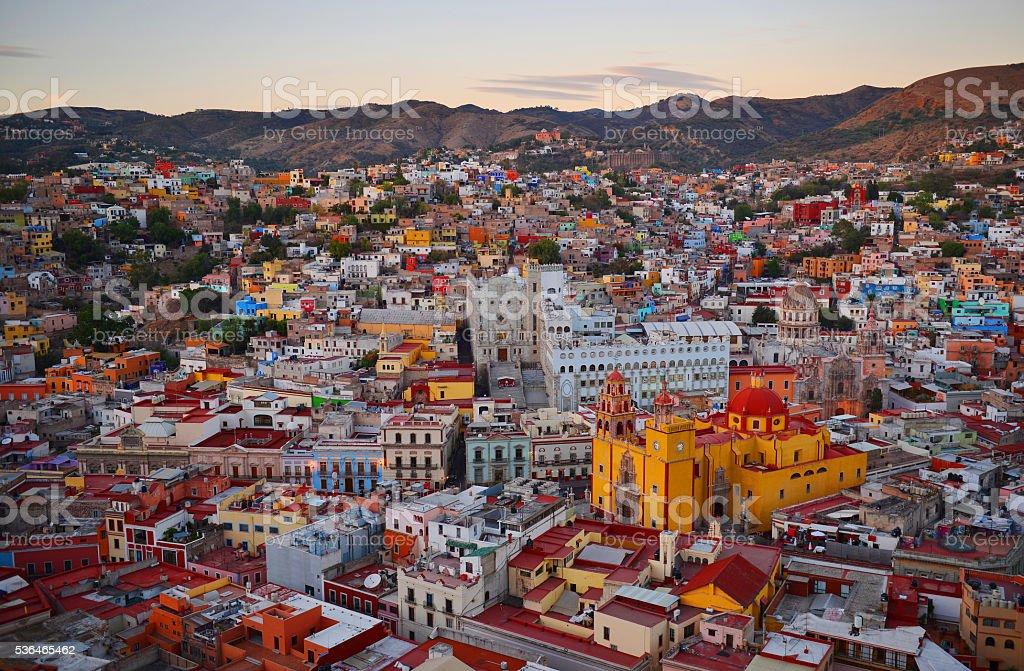 Guanajuato Skyline stock photo