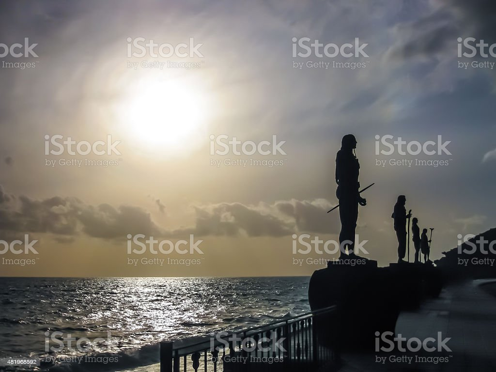 Guanches Kings stock photo
