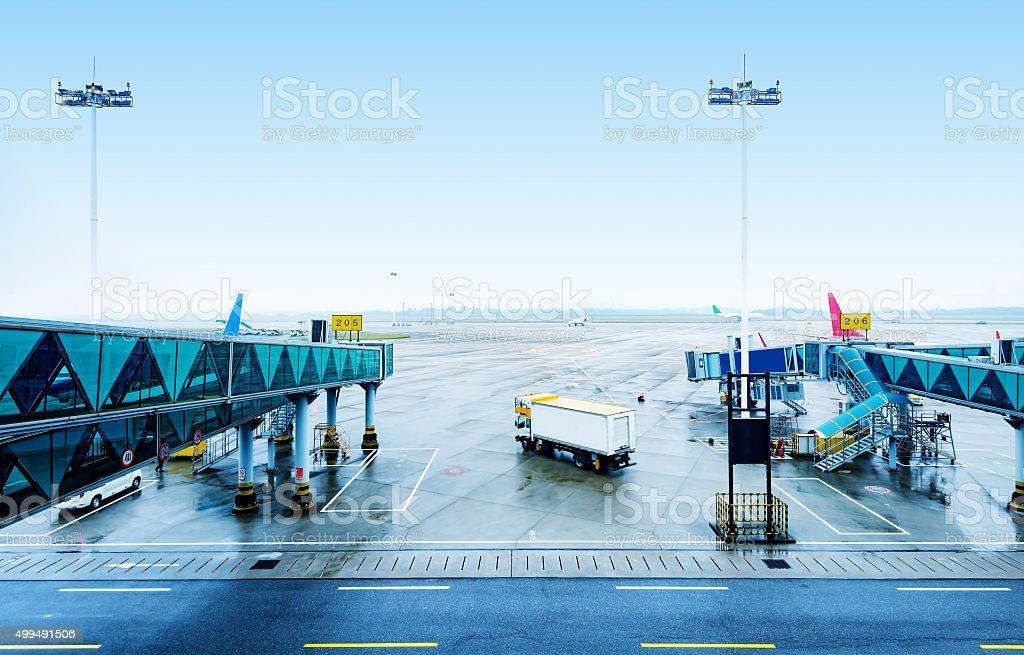 Guangzhou Airport stock photo