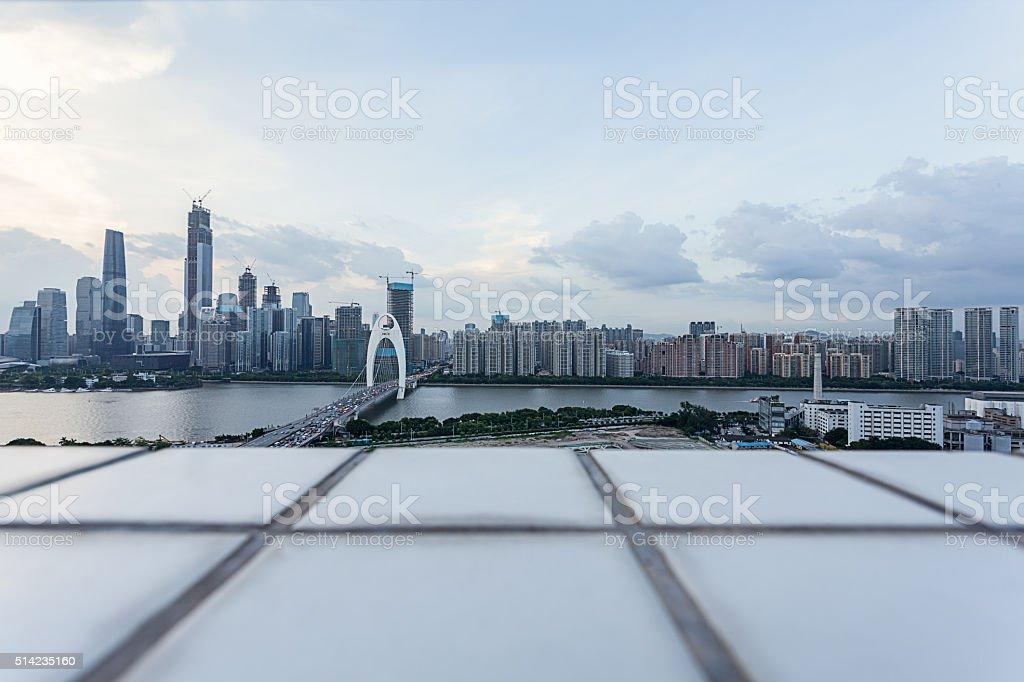 Guangzhou CBD stock photo