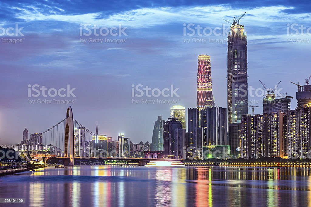 Guangzhou, China stock photo