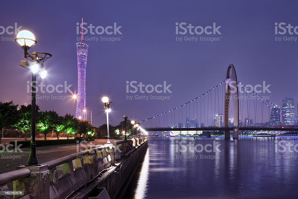 Guangzhou Cityscape, China stock photo