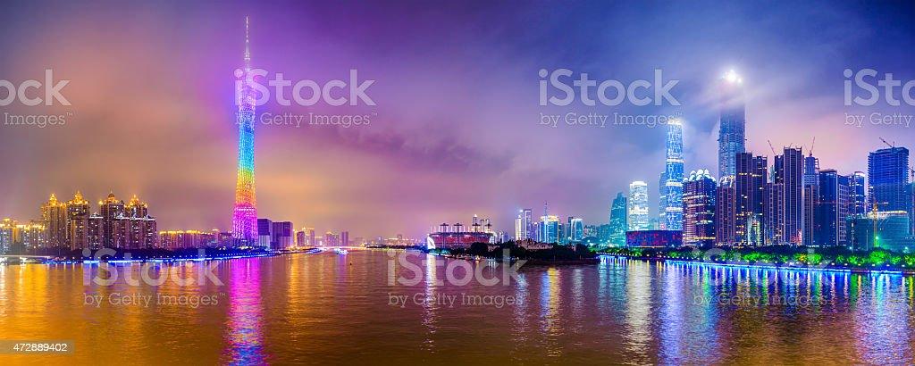 Guangzhou Panorama stock photo