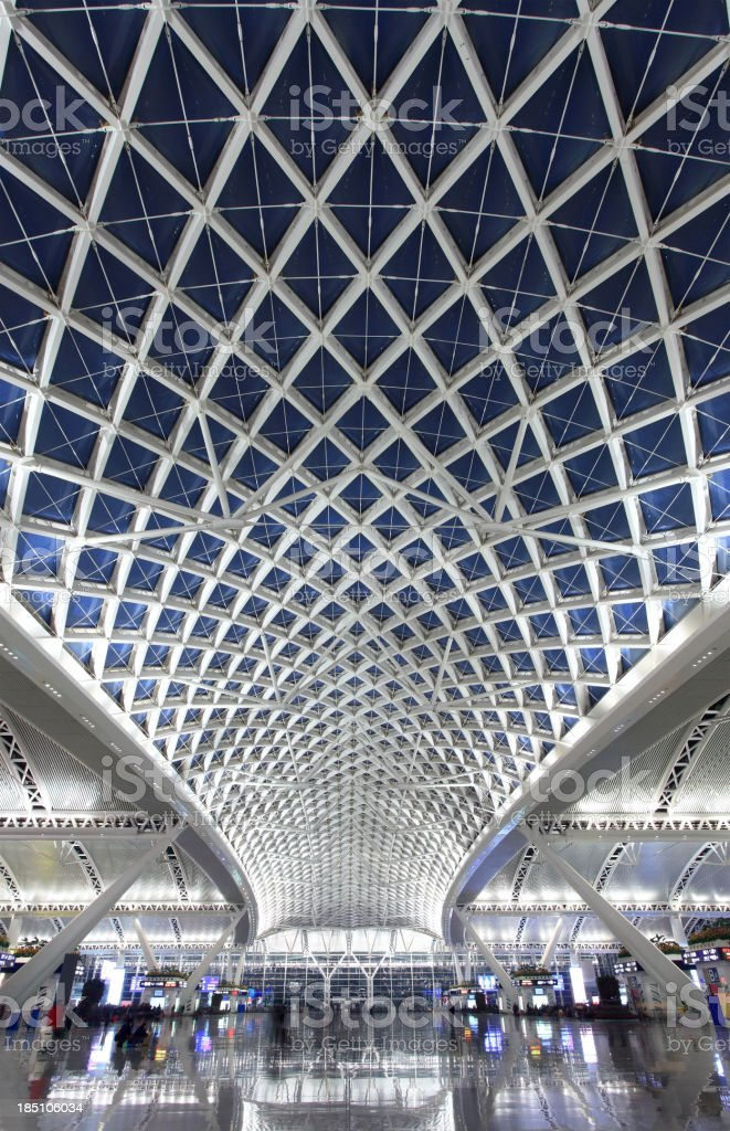Guangzhou railway station royalty-free stock photo