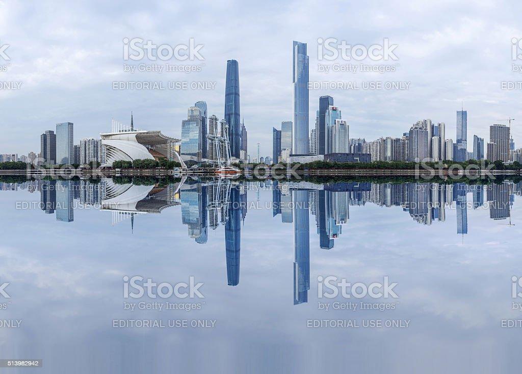 Guangzhou skyline stock photo