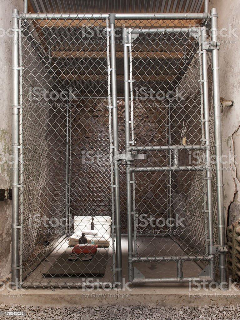 Guantanamo Bay Cell Recreation stock photo