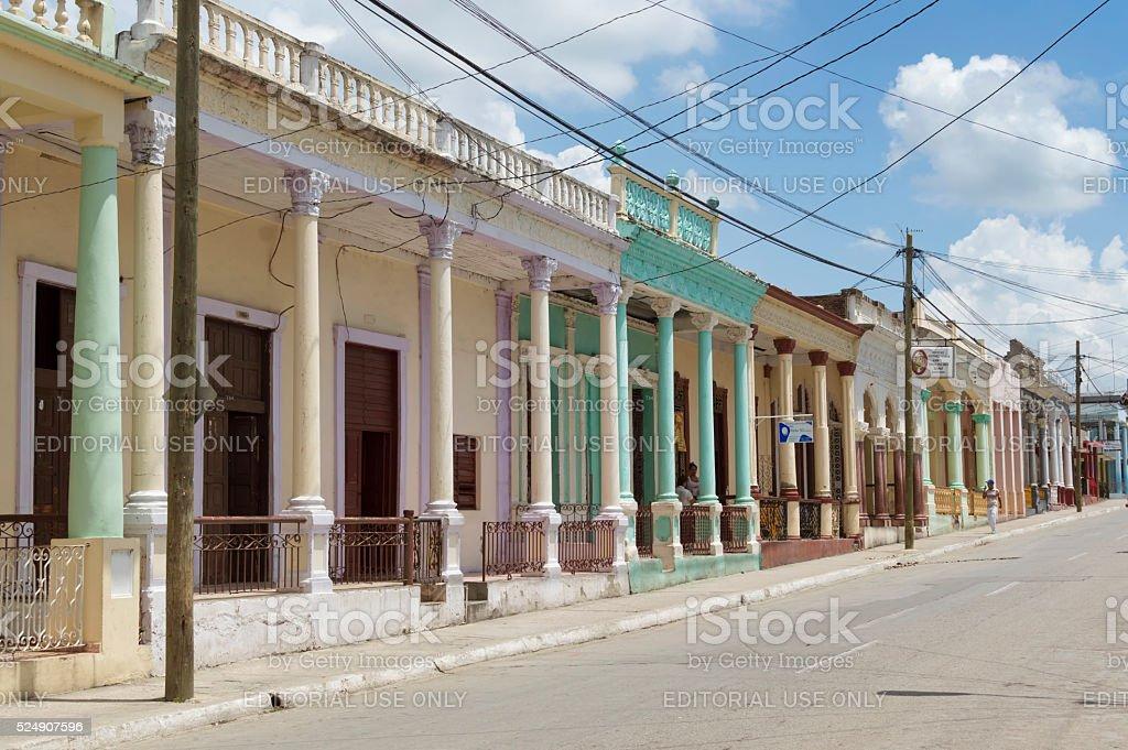 Guantanamo city on a sunny day stock photo