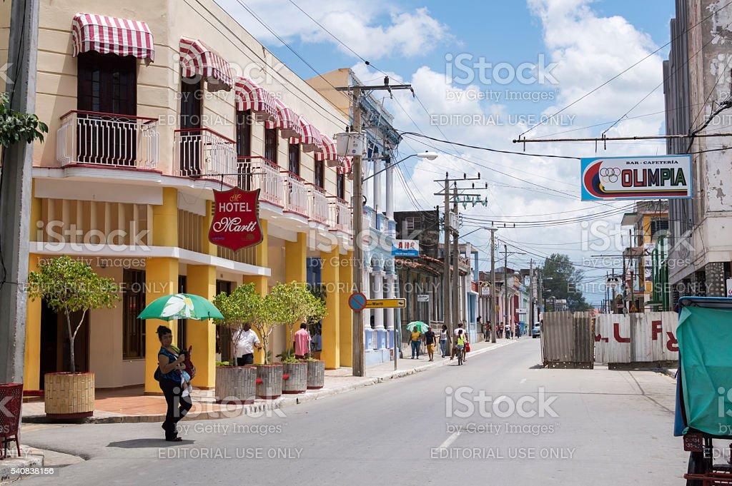 Guantanamo city stock photo