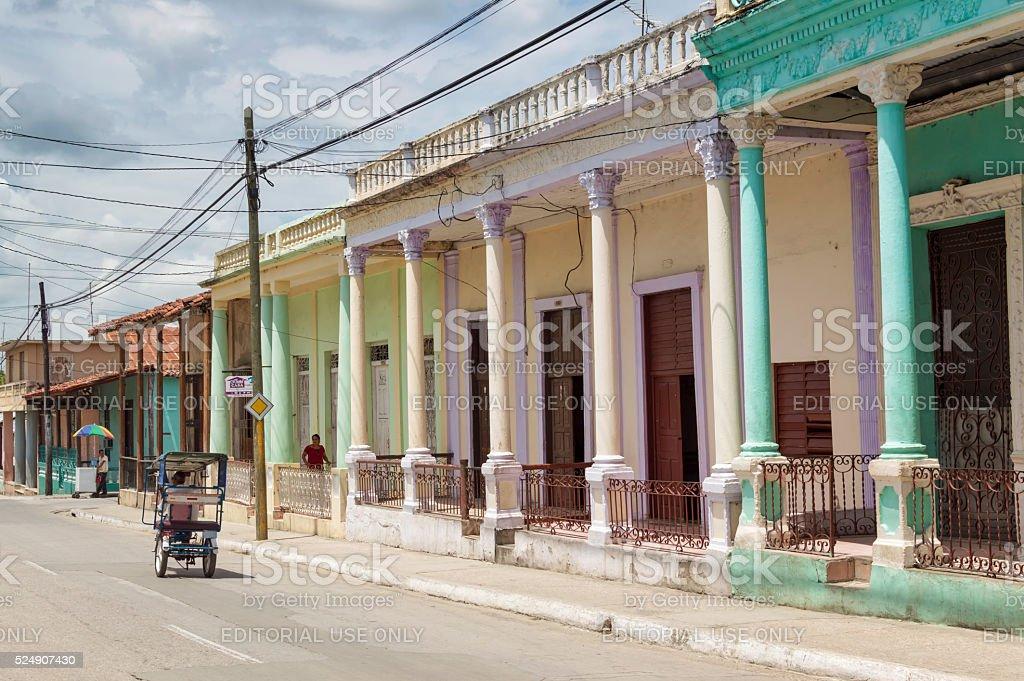 Guantanamo city streets stock photo