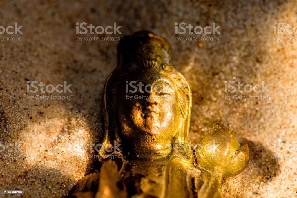Guanyin, chinese goddess of mercy stock photo