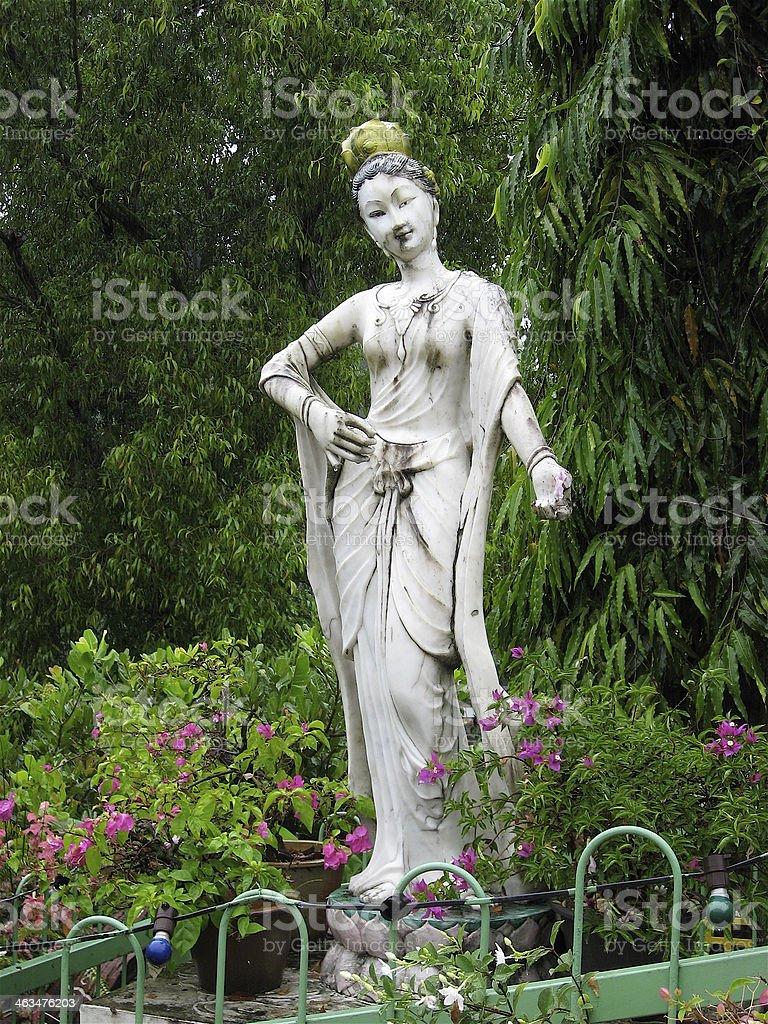 Guanyin, Goddess of Mercy stock photo