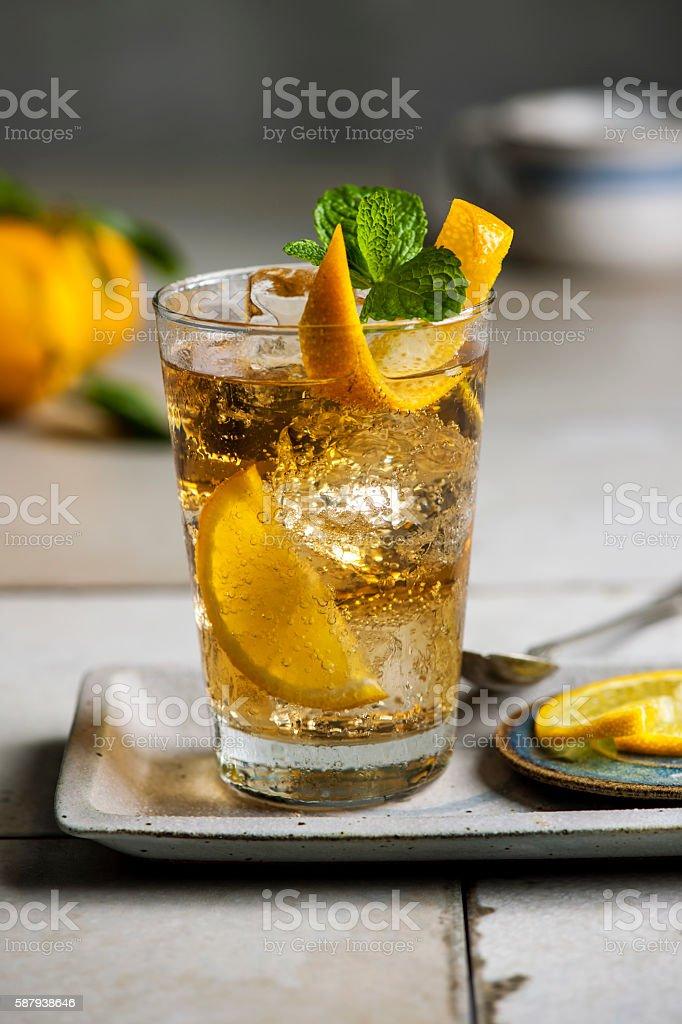 Guarana drink stock photo