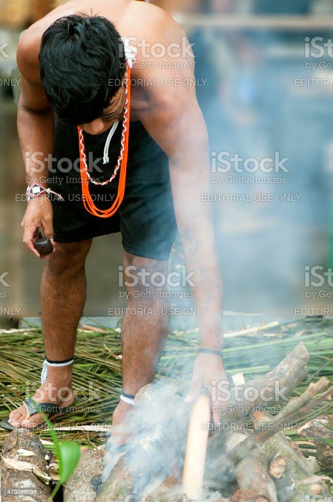 Guarani stock photo