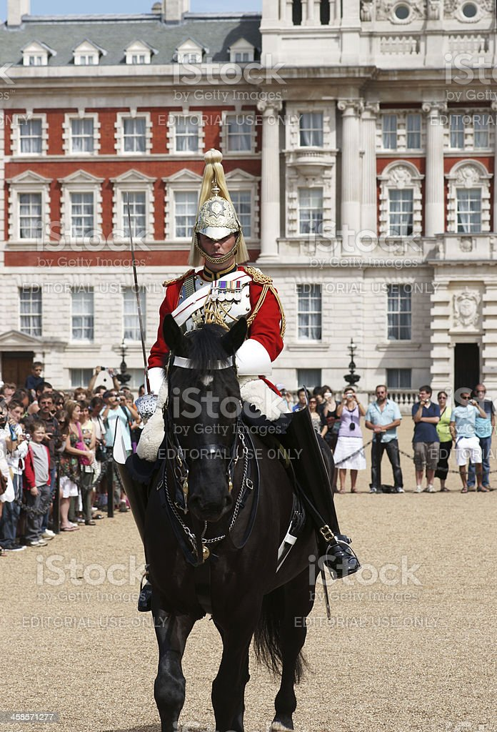 Guard Change at the Buckingham Palace London royalty-free stock photo