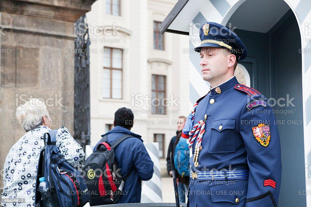 Guard royalty-free stock photo