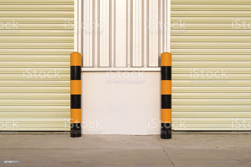 guard post stock photo