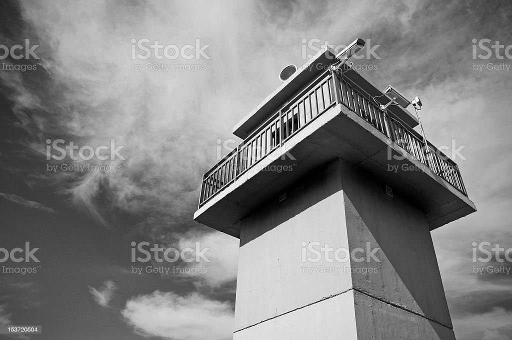 Guard tower... stock photo