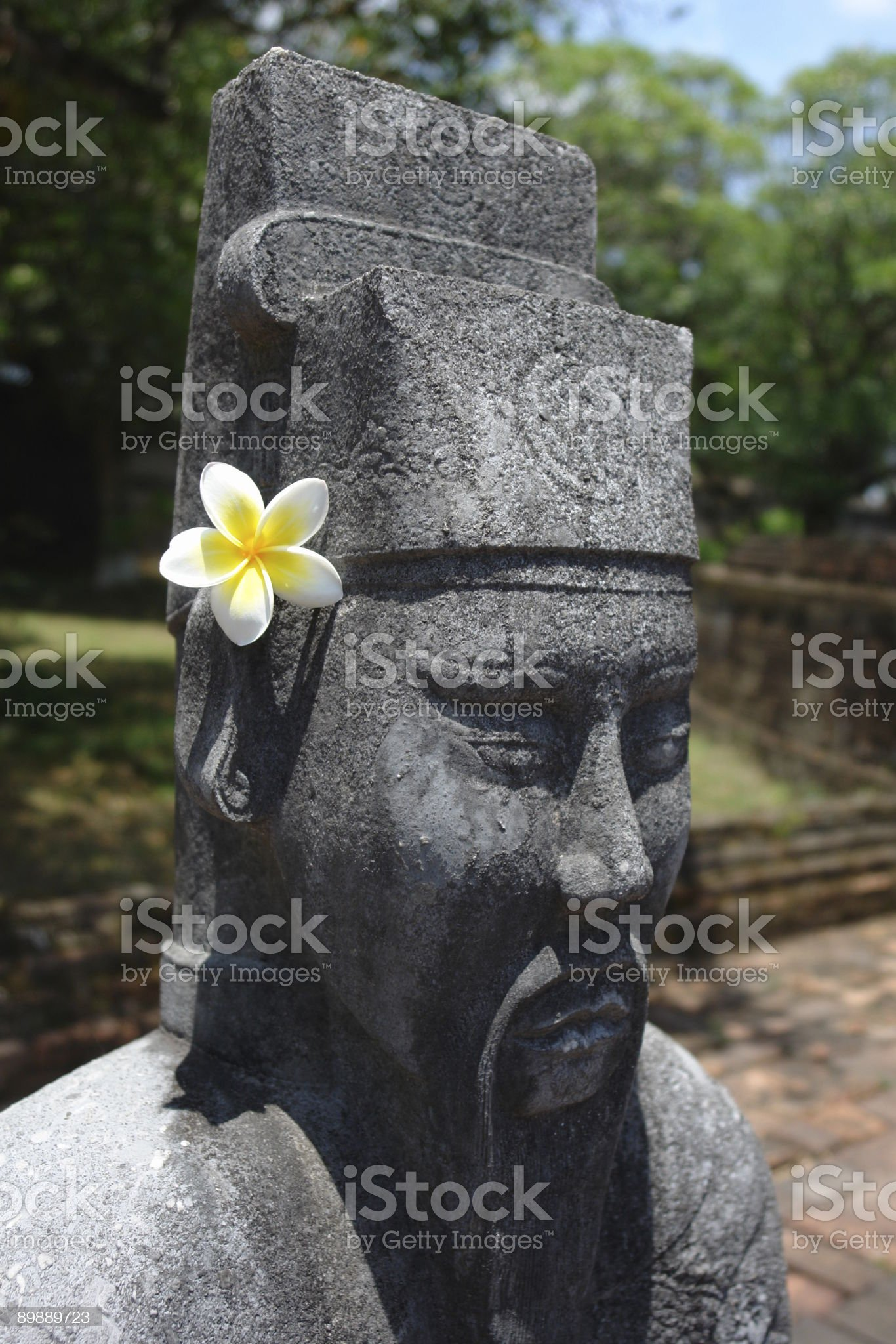 guard with Flower royalty-free stock photo