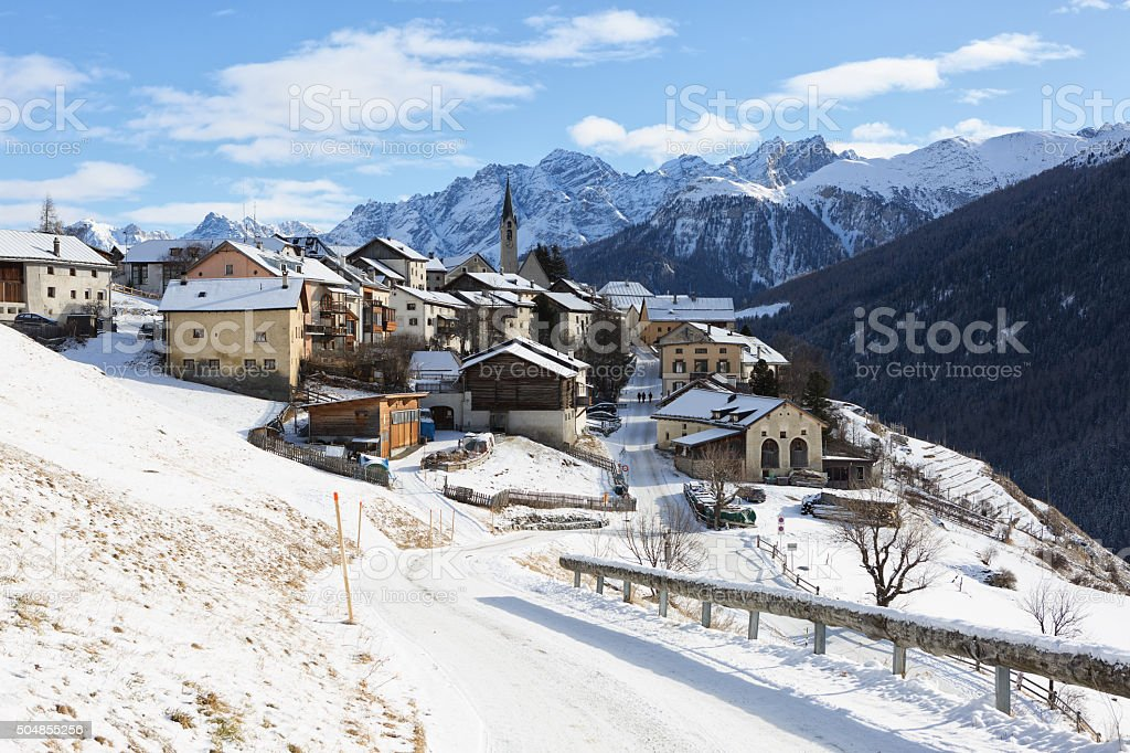 Guarda Village stock photo