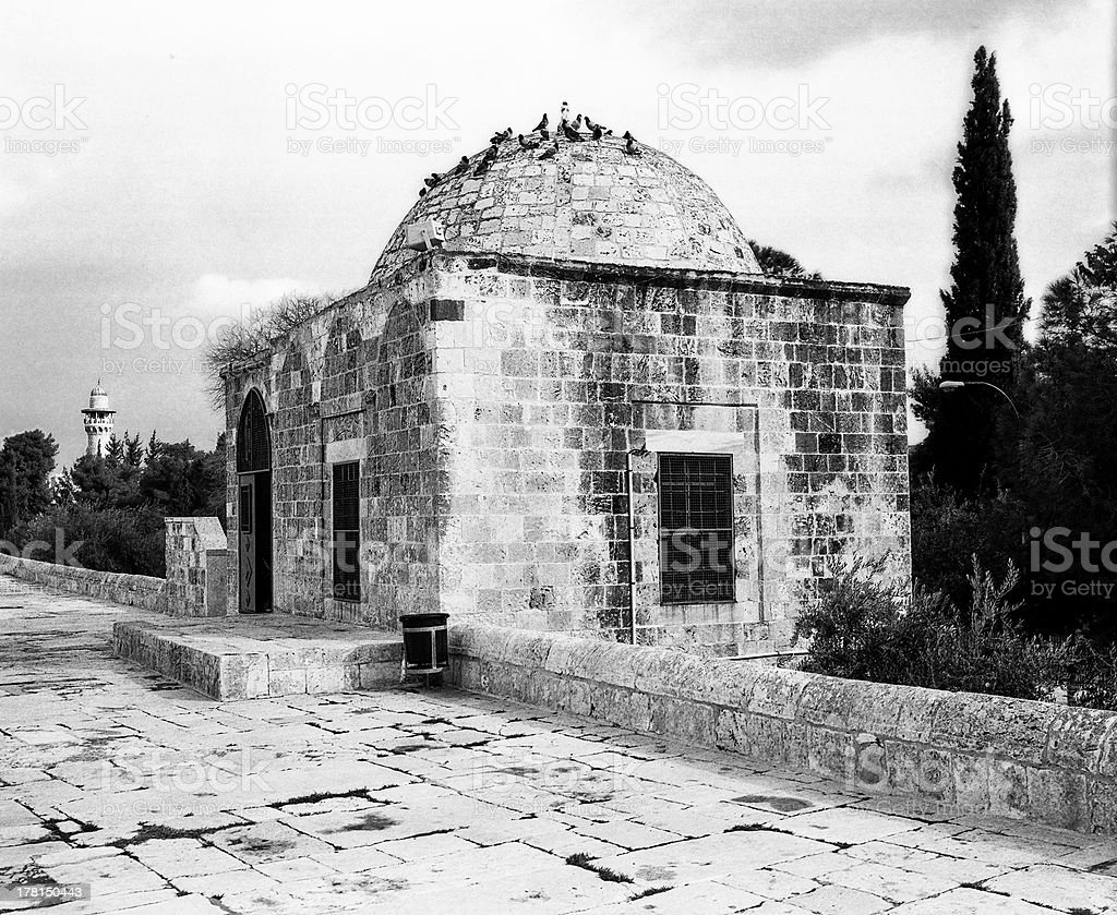 Guardhouse On The Temple Mount royalty-free stock photo