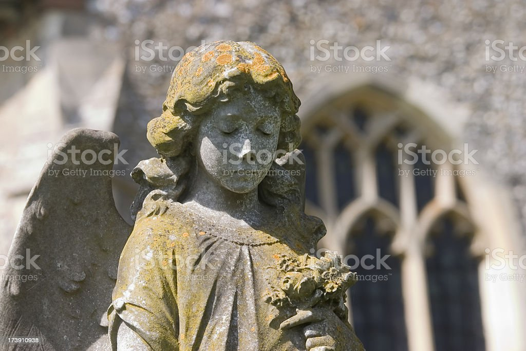 Guardian Angel royalty-free stock photo
