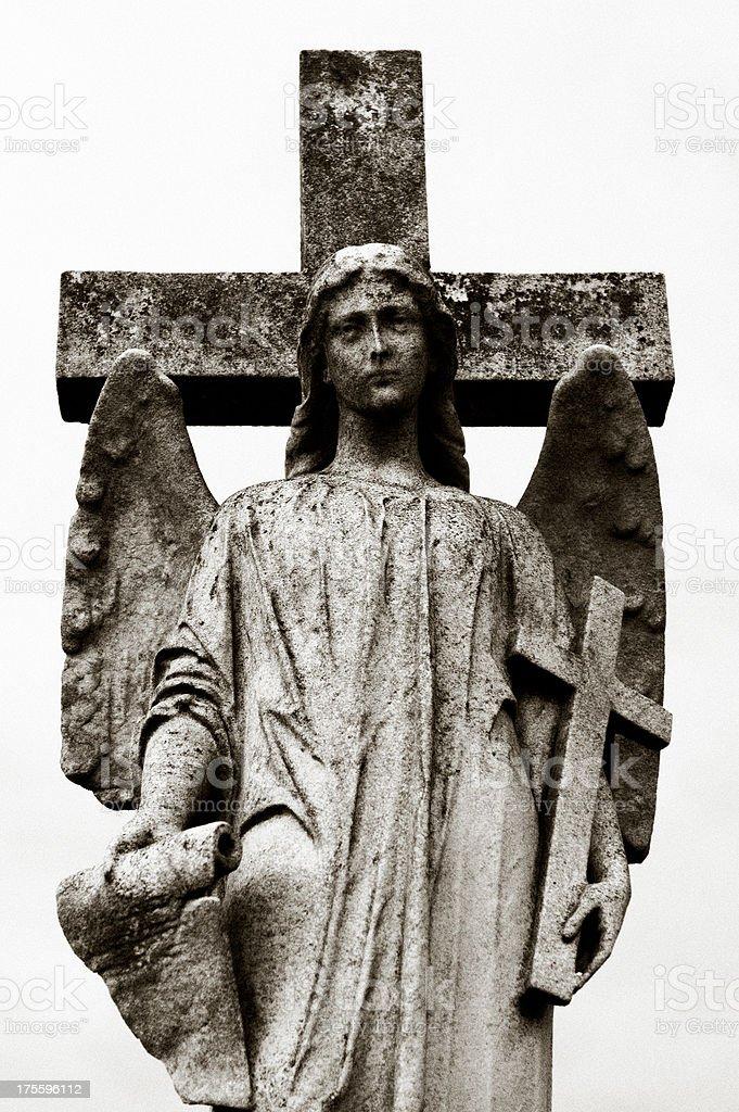 Guardian Angel stock photo