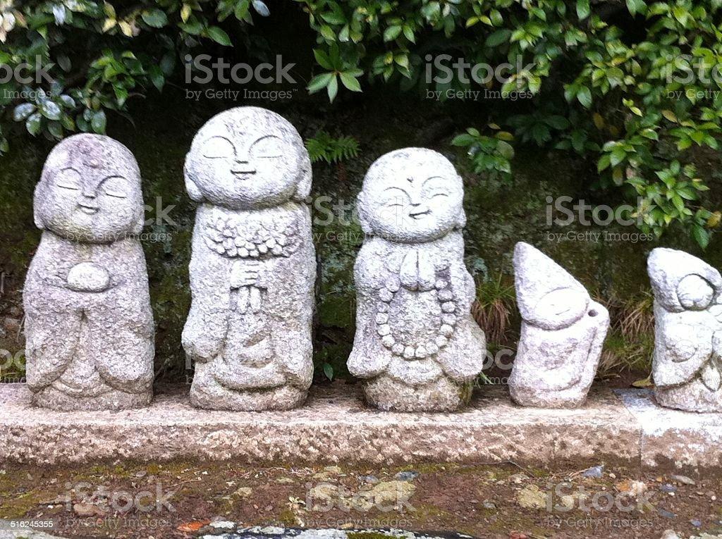 Guardian deity of children stock photo