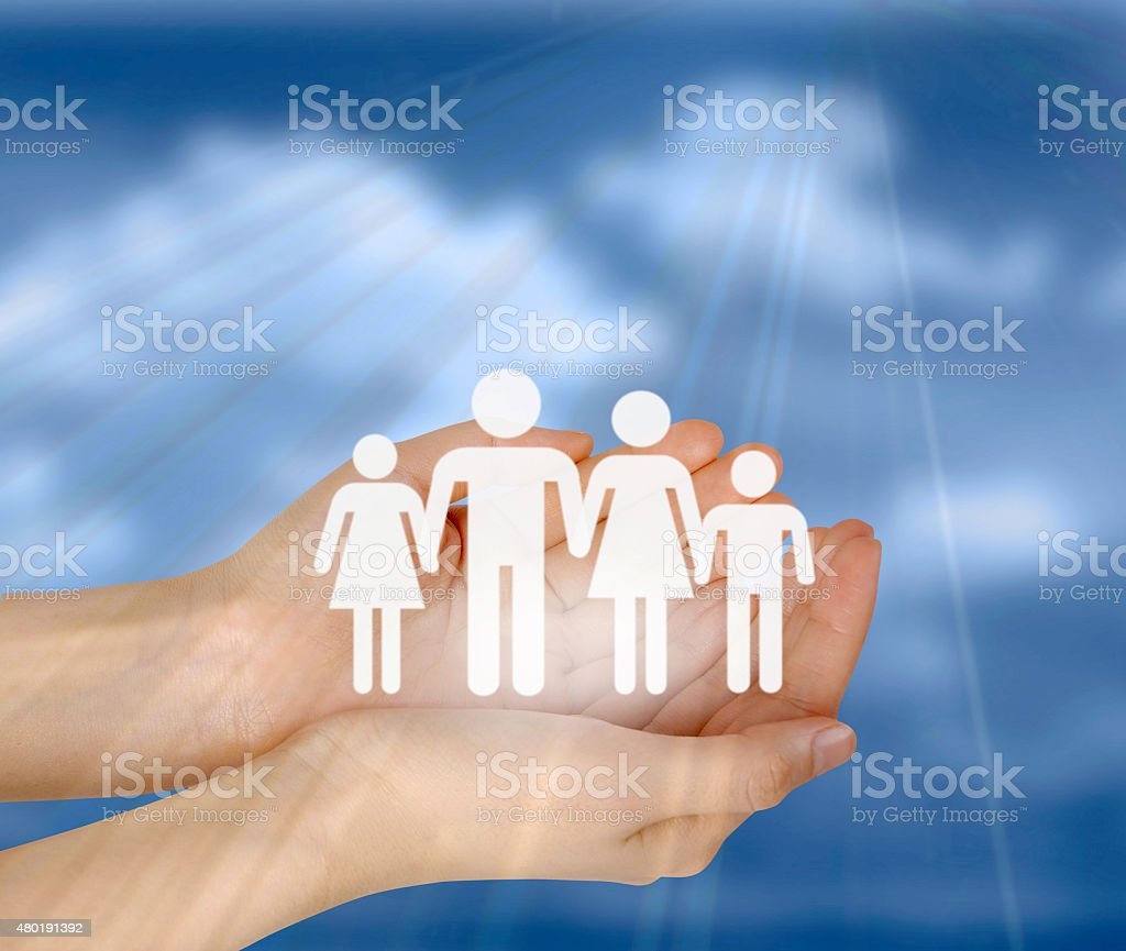 Guardianship stock photo