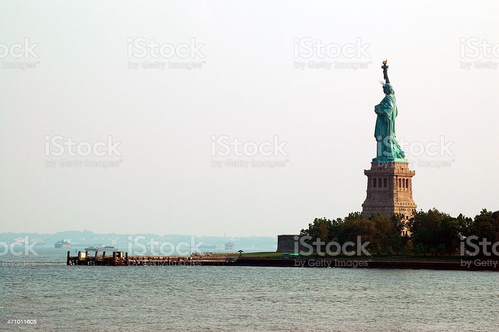 Guarding Liberty royalty-free stock photo