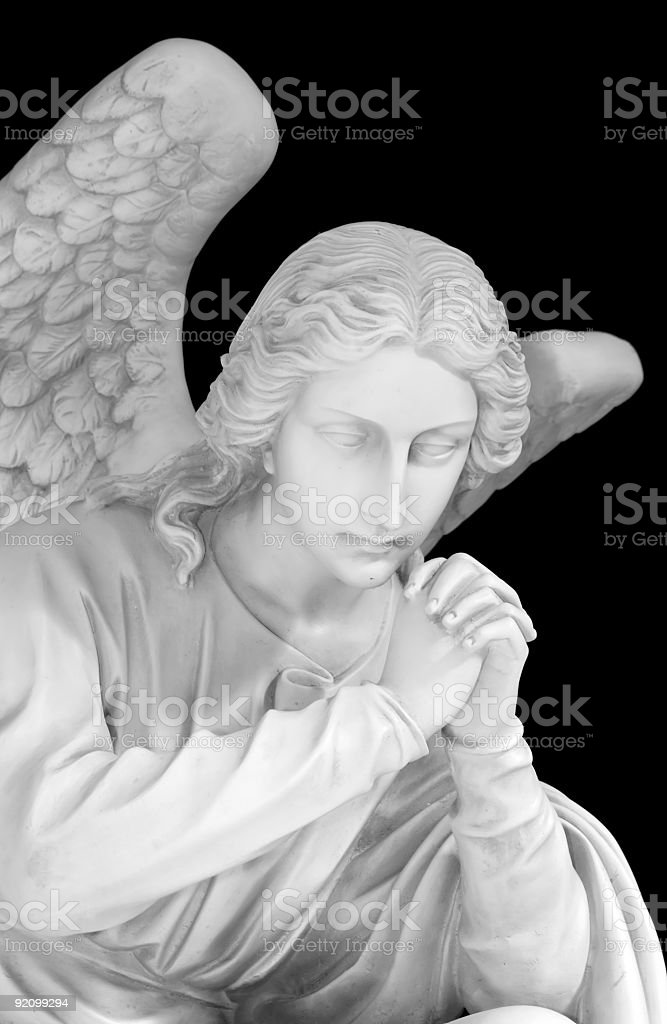 Guarding Lost Loved Ones stock photo