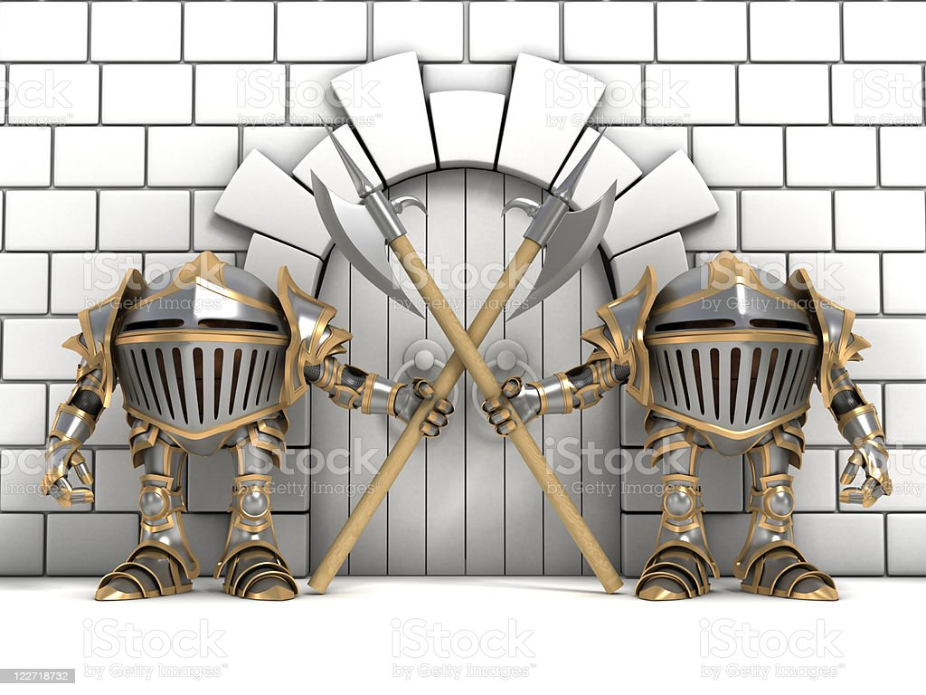Guards royalty-free stock photo