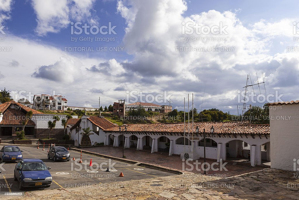 Guatavita, Colombia - Police Station royalty-free stock photo