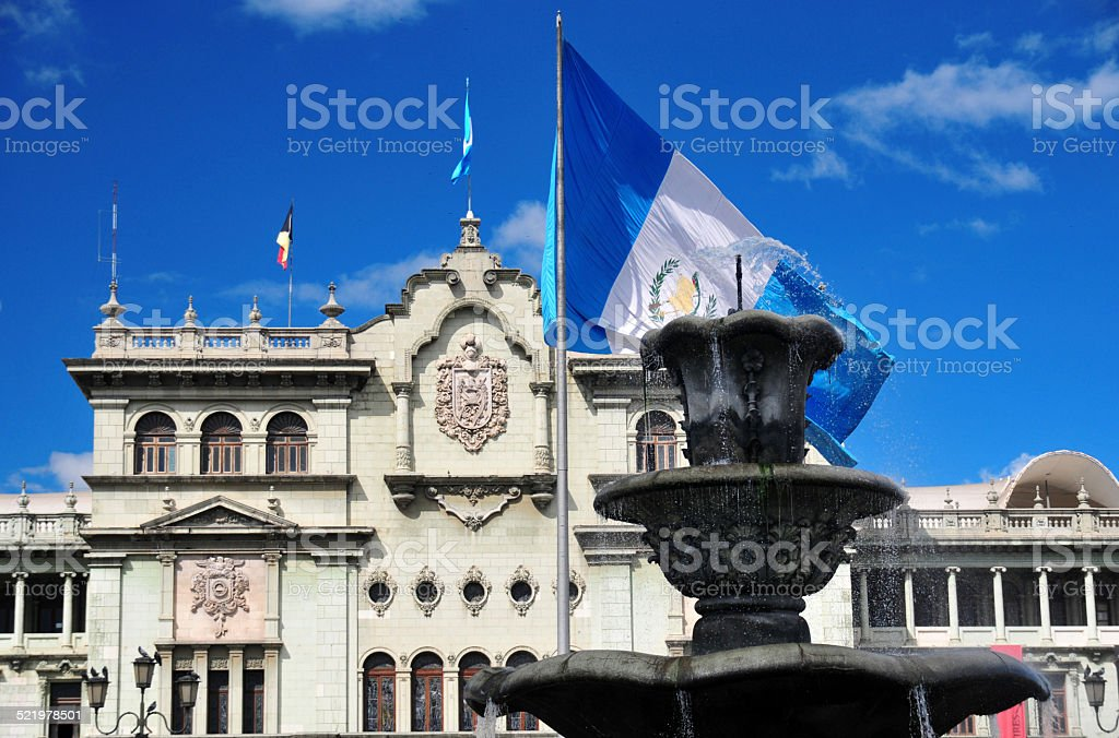 Guatemala city stock photo